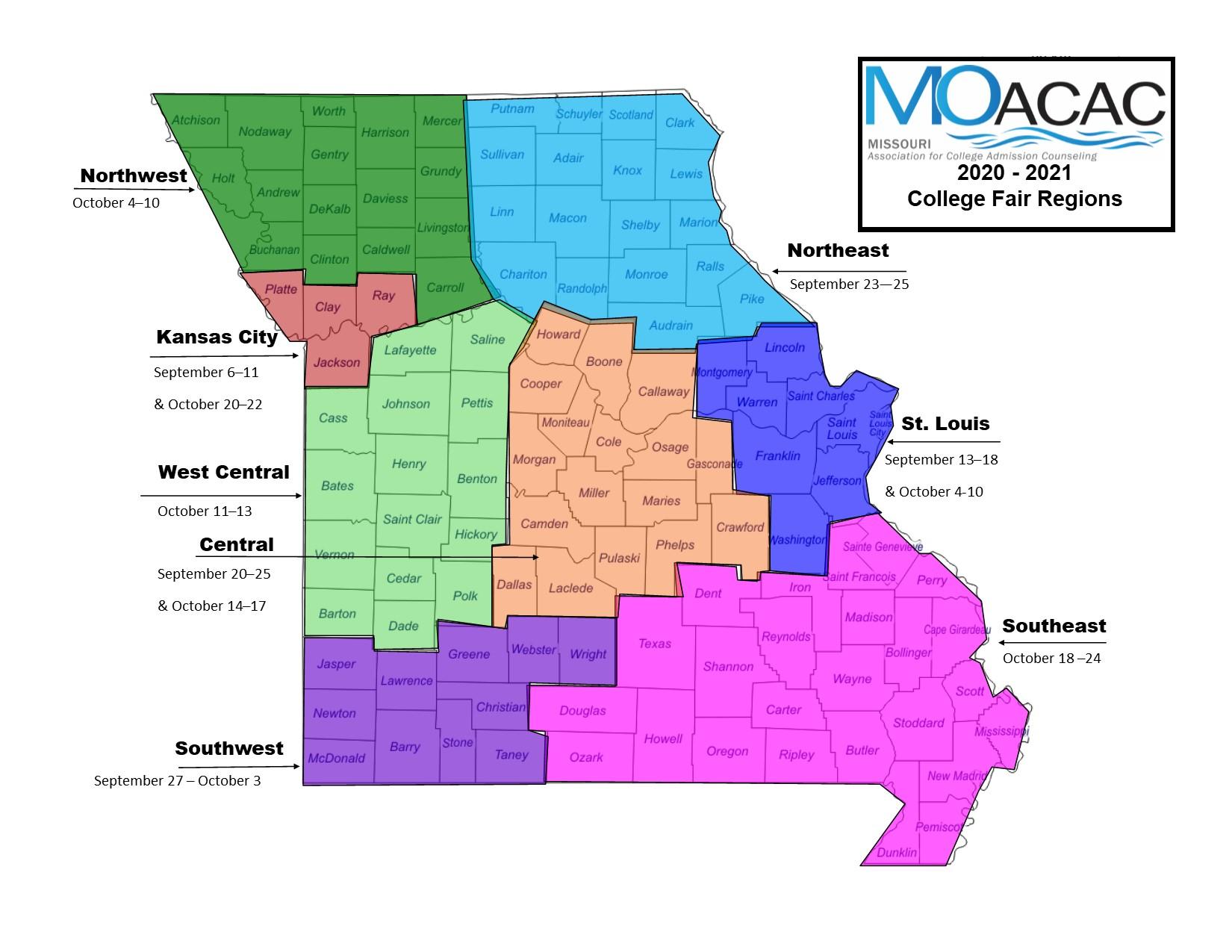 2020-2021 Map